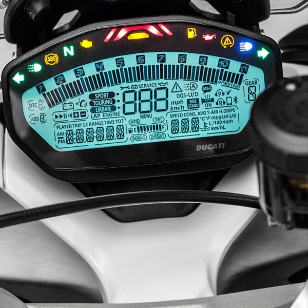 image compteur supersport Ducati