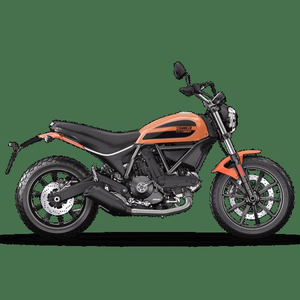 Scrambler SIXTY2 Ducati chez Paris Nord moto