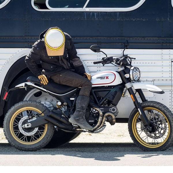image 03 galerie Scrambler Desert Sled Paris Nord Moto