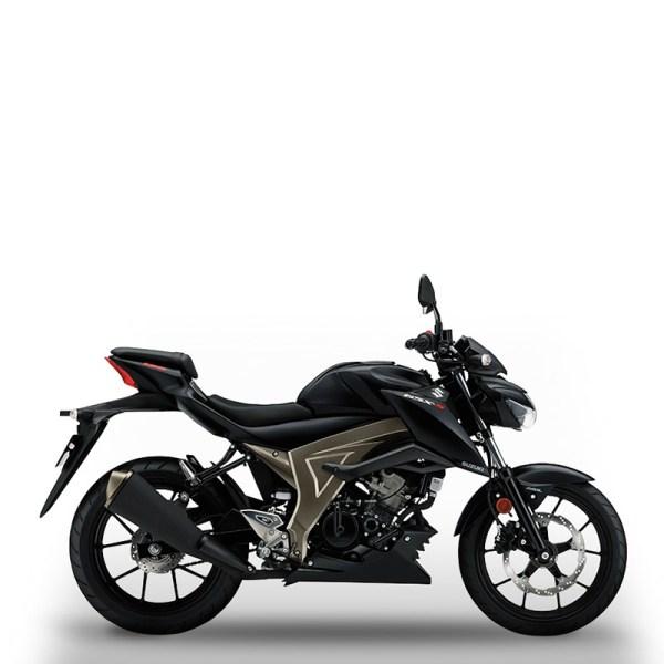 image GSX-S125 noir Suzuki Paris Nord moto