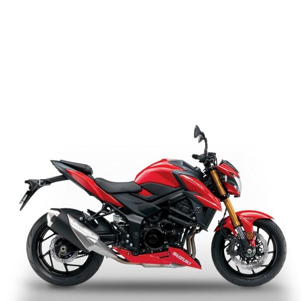 GSX-S750 rouge chez Suzuki Paris Nord moto