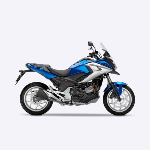 image NC750X 2017 bleu Honda Paris Nord Moto