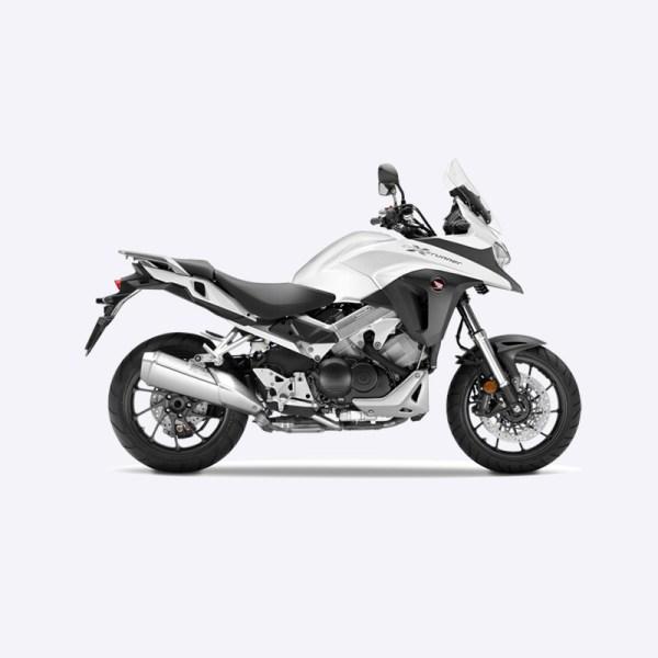 image VFR800X Crossrunner tricolore Paris Nord moto