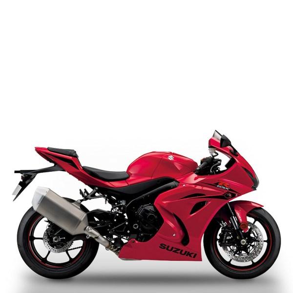 image GSXR1000 ROUGE chez Suzuki Paris Nord moto