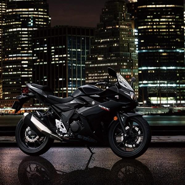 image 02 GSX-250R chez Suzuki Paris Nord moto
