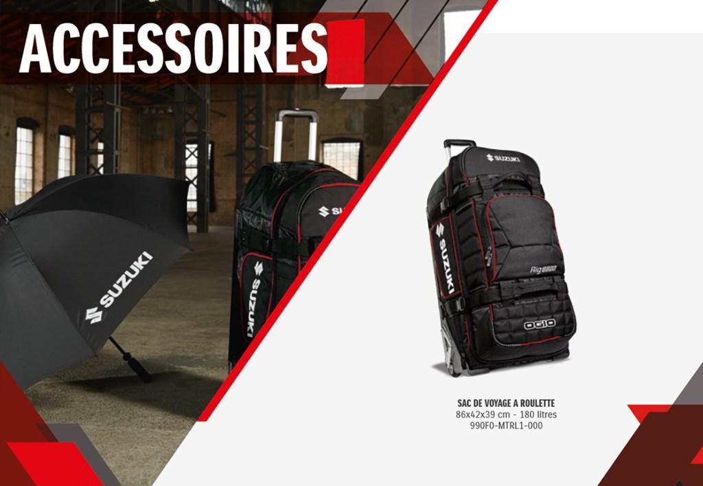image pdf accessoires suzuki chez Paris Nord Moto