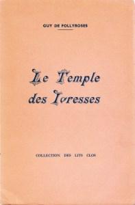 Le Temple Des Ivresses Losfeld 1955_0001