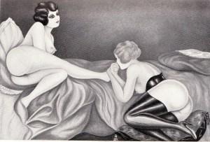 L'Infirnale Dominatrice Le Jardin D'Eros 1935_0003