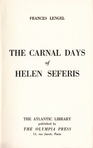 The Carnal Days of Helen Seferis Frances Lengel 1954_0004