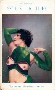 sous la jupe Les Editions du Couvre-Feu 1933_0001