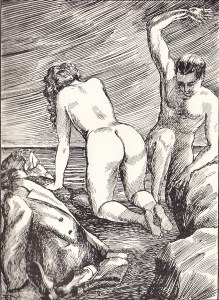 Irene et son Esclave Orties Blanches Davanzo 1933_0009