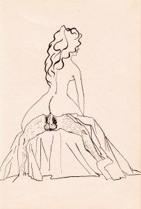 mme de V... a des Idees Noires Losfeld 1955_0008