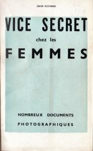 Vice Secret Georges Du Cayla 1935_0001