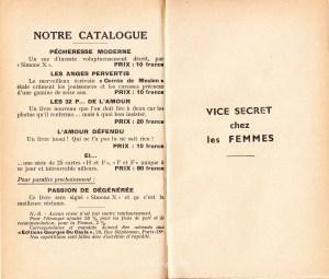Vice Secret Georges Du Cayla 1935_0002