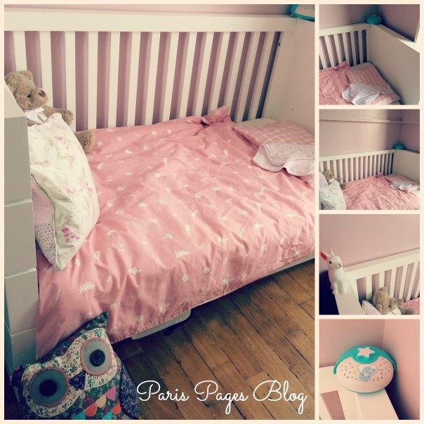 Sa chambre de grande fille - Paris Pages Blog