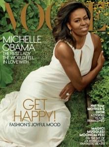 Michelle Obama in American Vogue