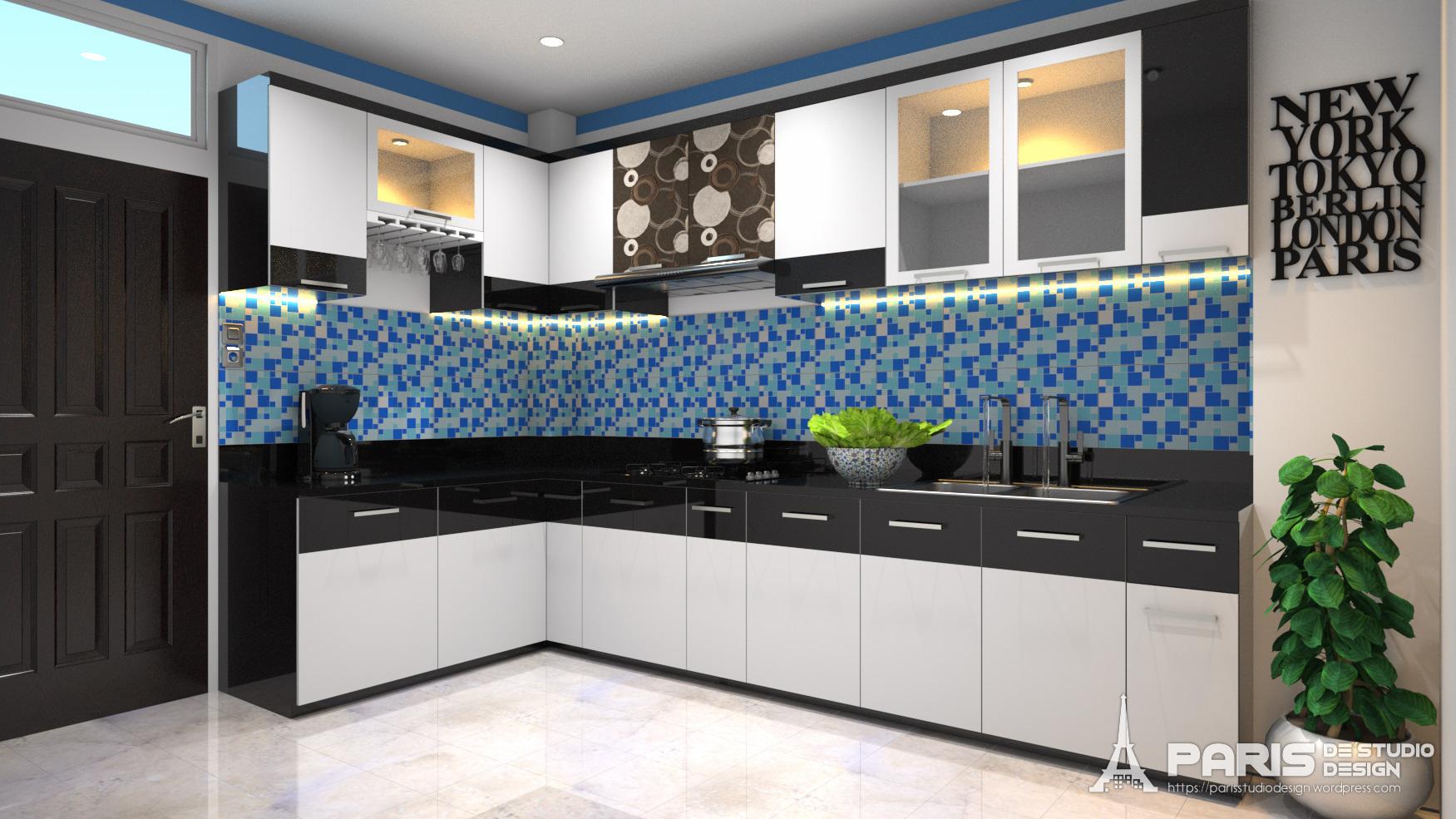 Kitchen set paris de studio design