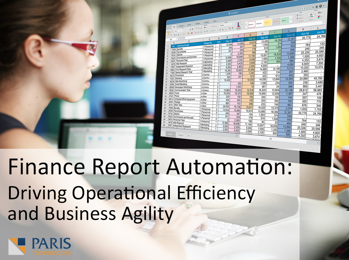 Finance Report Automation: Driving Operational Efficiency and Business Agility