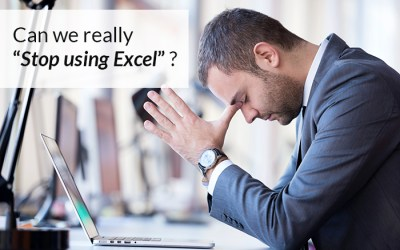 """Can we really """"Stop using Excel""""?"""