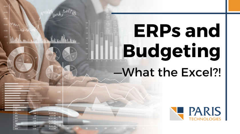 ERPs and Budgeting—What the Excel?!