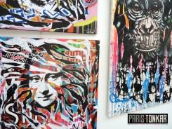 Exposition Utopie(s) Urbaines : vernissage + installation