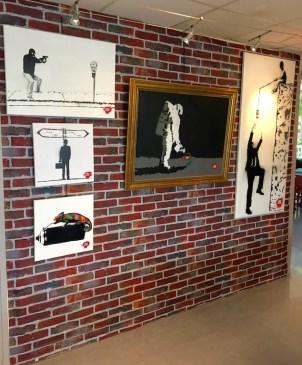"""Exposition d'art urbain Kotow """"On a tous besoin d'un mur"""""""