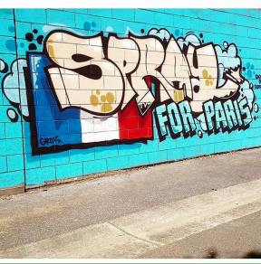 #sprayforParis