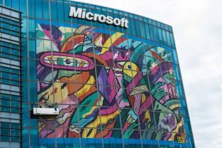 Street art Microsoft Ambassador