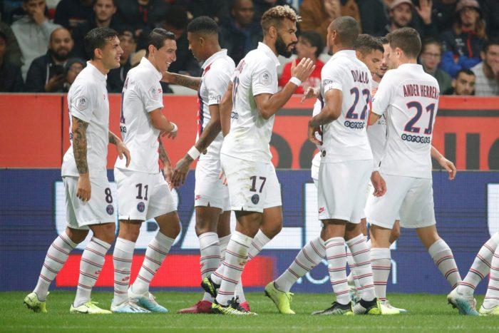 Angel Di Maria en apesanteur - Paris United