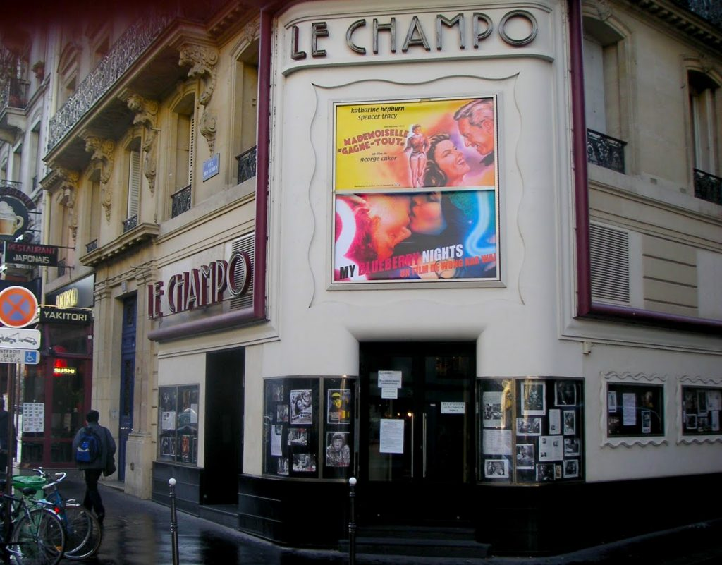 The Champo is one of the Latin Quarter's beloved historic cinemas.