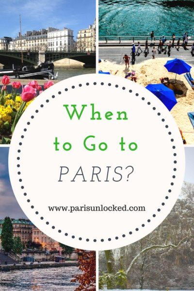 When is the best time of year to visit Paris? That's a highly personal decision.
