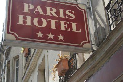 A 3-star hotel in Paris, France