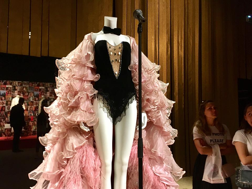 """A costume displayed at the recent """"Dalida"""" exhibit at the Palais Galliera in Paris. Image credit: Courtney Traub"""