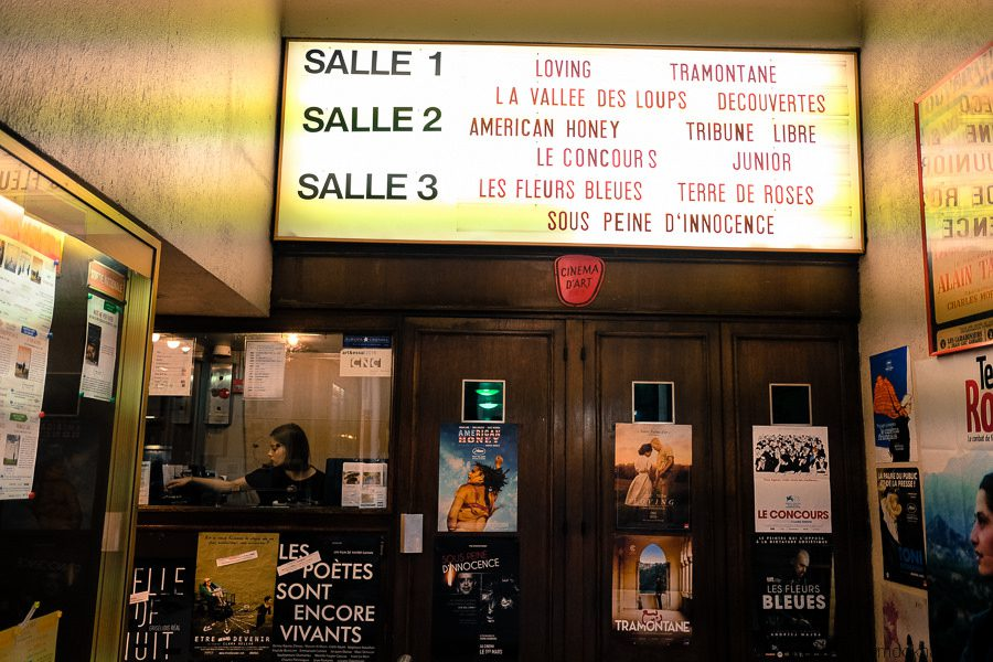 Cinema is more than a pastime in Paris: it's a sacred ritual, especially in winter. Credit: Kim Dokhac/Creative Commons 2.0