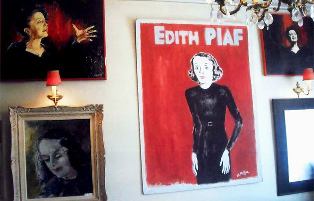 The Musee Edith Piaf in Paris: Worth a visit when you're a true fan, or even if you're open to becoming one. Image: parisinfo.com