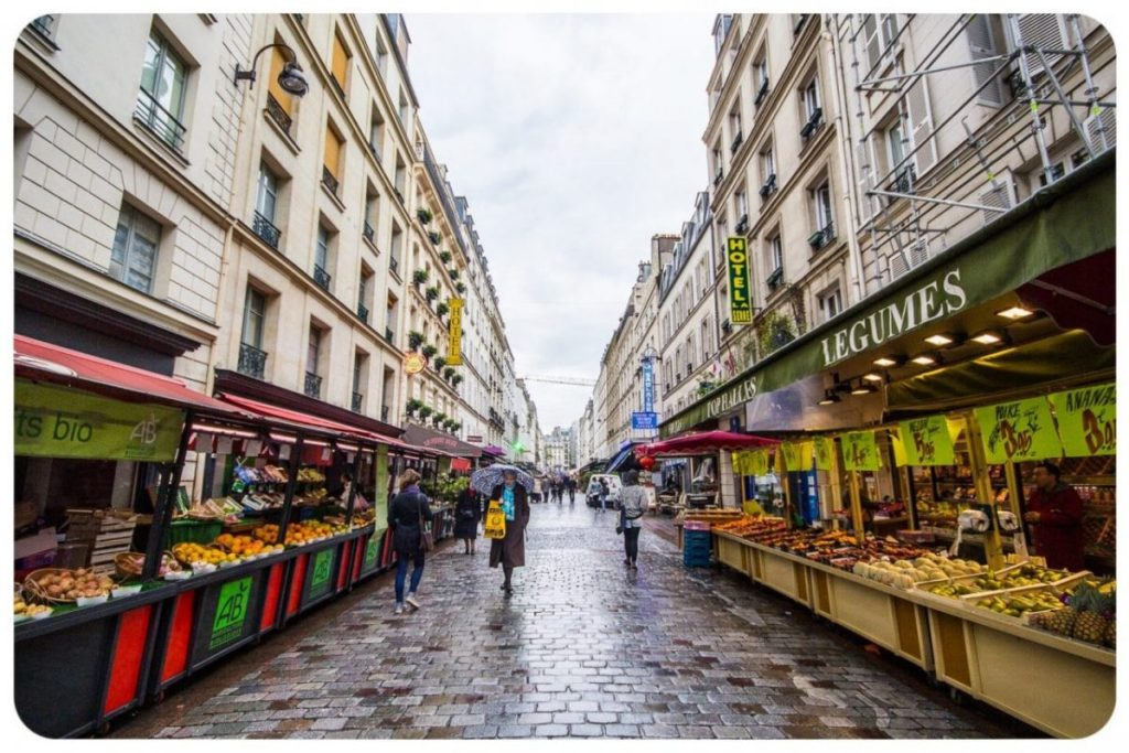 A market street in Paris. Image: Alvaro Maltamara/Creative Commons