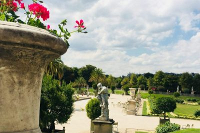 A sunny day at Luxembourg garden. Image: Courtney Traub/All rights reserved