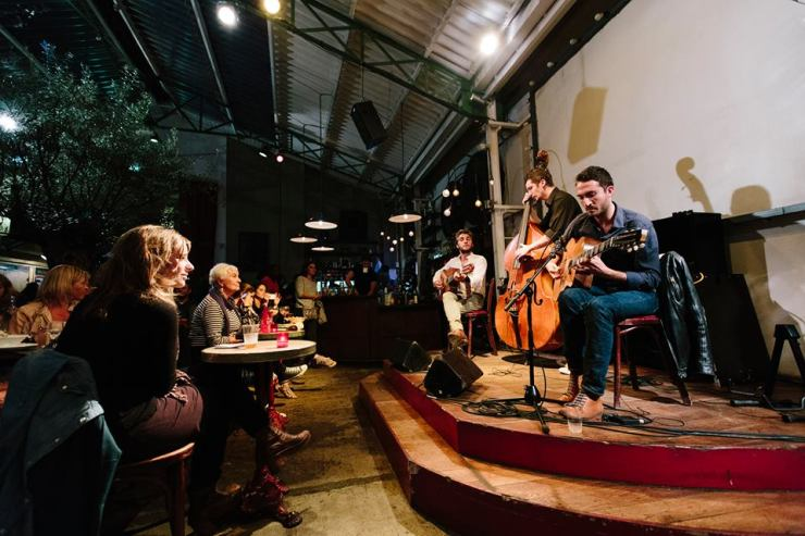 Live music at La Bellevilloise in Paris . Image credit: Official FB page