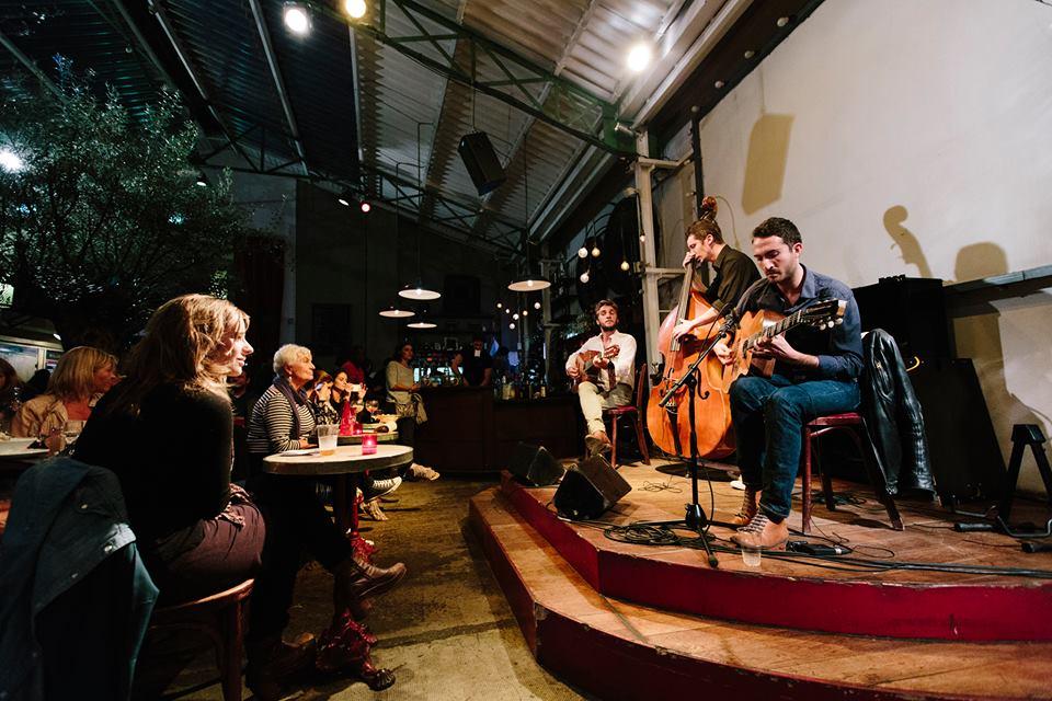 Live music at La Bellevilloise in Paris . Image credit: Official FB page