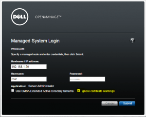 How to access the iDrac via VMware ESXi and reset IP or username