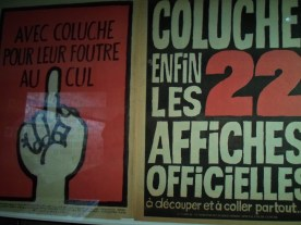 Charlie Hebdo supported Coluche during his electoral campaign