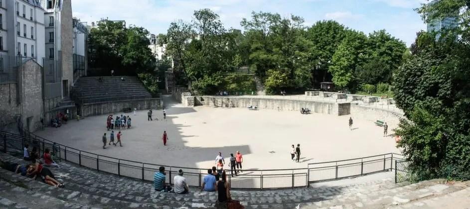 paris writing retreats june 2021 itinerary arenes de lutece