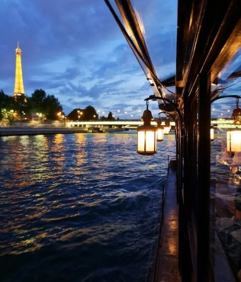 Seine Dinner Cruise paris writing retreats june 2021 itinerary