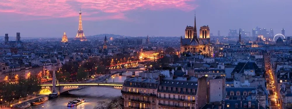 Paris at l'Heure Bleue notre dame arc de triomph eiffel tower saint sulpice paris writing retreats june 2021 itinerary