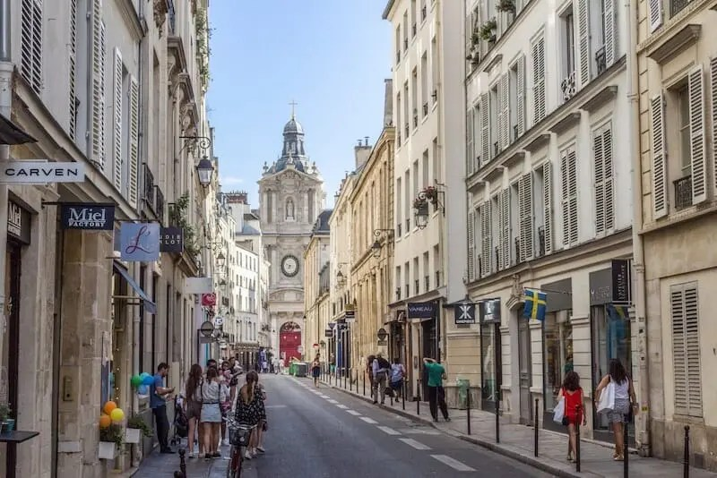 saint paul saint louis le marais eglise church rue de sevigne paris writing retreats june 2021 itinerary