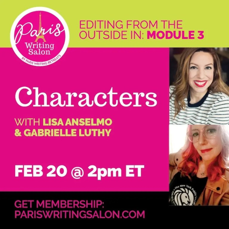 editing from the outside in characters