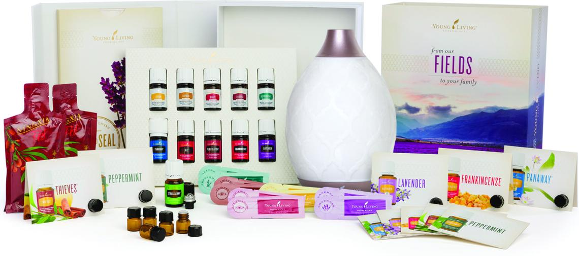 Young Living Starter Kit - essential oil Members