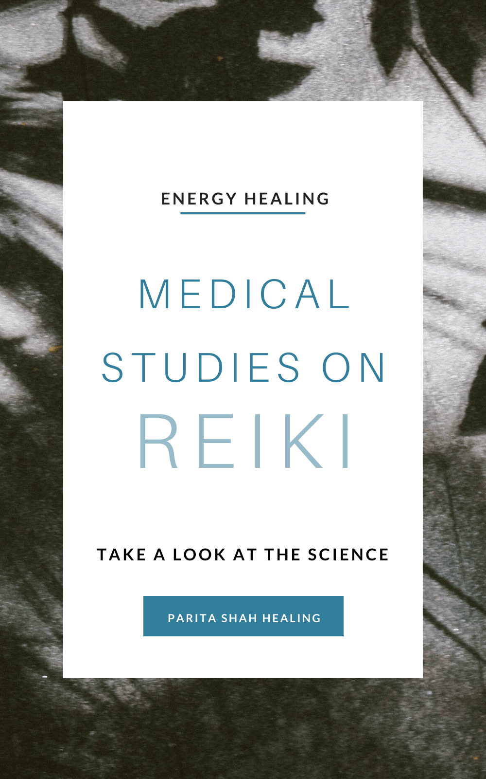 Medical Research on Reiki