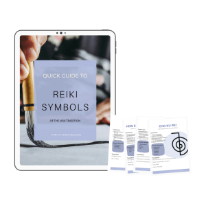 Reiki Symbol Quick Guide - Usui Reiki Symbol Cheat Sheet