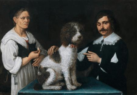 Guercino & his Mother - 1627